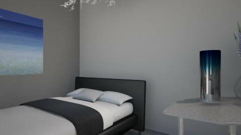 ocean blue  - Bedroom - by Redecorations