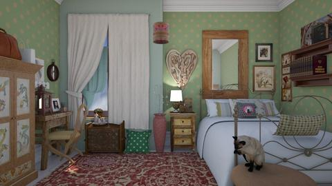 Granny spare room  - Eclectic - Bedroom - by augustmoon