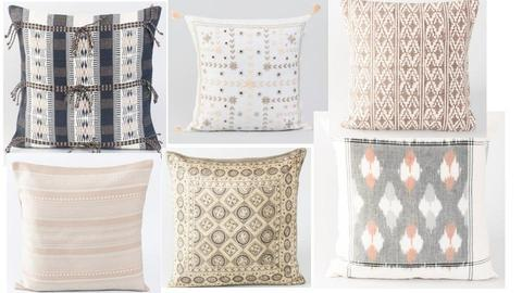 cushions - by Pavitra Pushpanathan