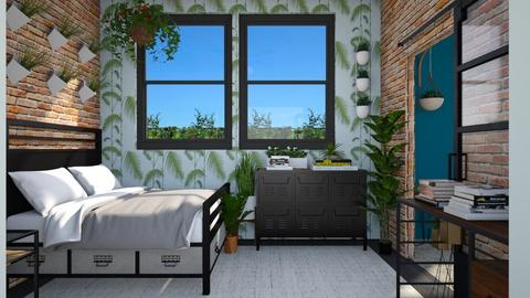 Urban Jungle  - Bedroom - by lauren_murphy