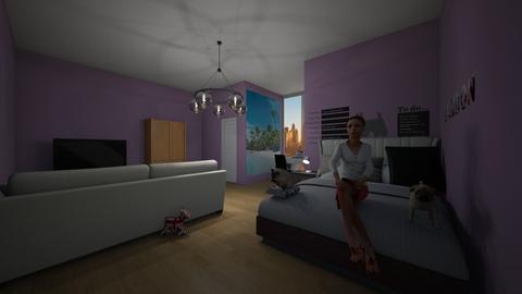 Teen girl room - by kebab123