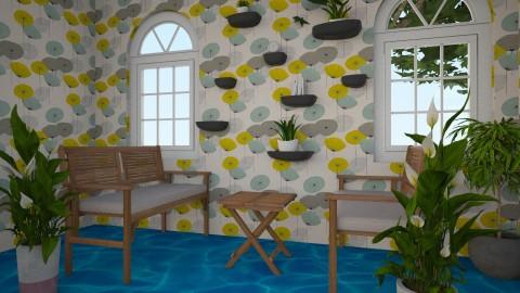 Polynesian Style1 - Living room - by Aliisha Asuao