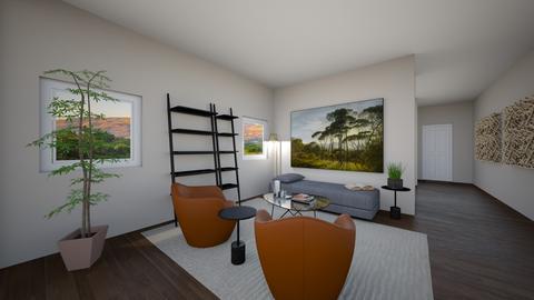 LRDRLeeflx66 - Living room - by evakarwowska