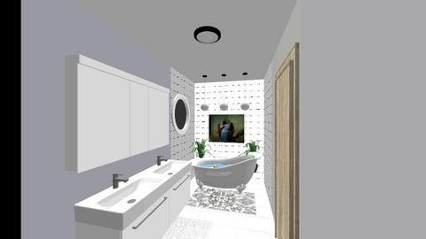 Master Bath - Bathroom - by hippochica