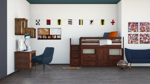 boys room - Bedroom - by afg15