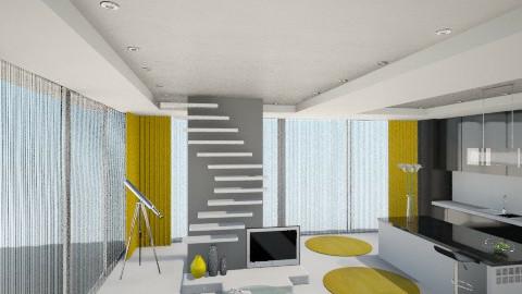 Zuto crne nijanse - Modern - Living room - by oljafili