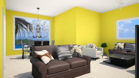 Sala - Living room - by Rosa Gonzalez