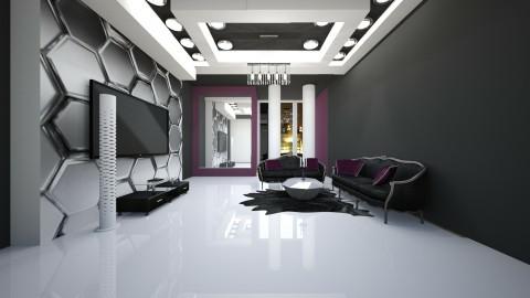 purpleXblack - Modern - by dimanna8