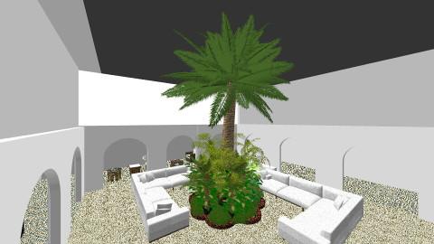 Villa Courtyard - Garden - by javera123
