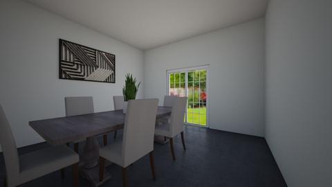 Dining Room - Dining room - by MonseMireles