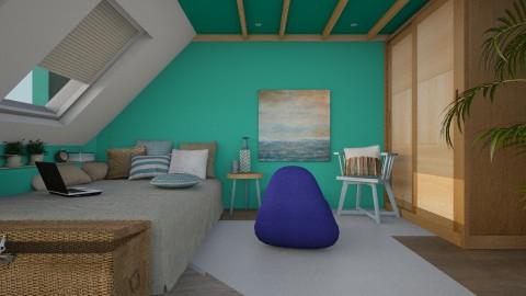 Concept 012 - Minimal - Bedroom - by brontebee