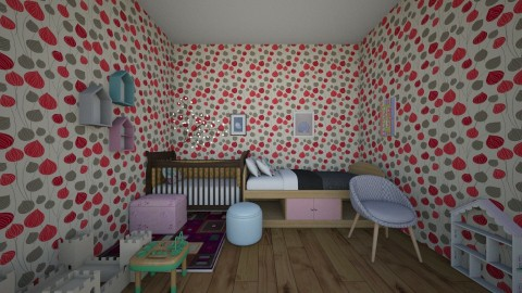 Two Little Princesses - Modern - Kids room - by Arishka Jha