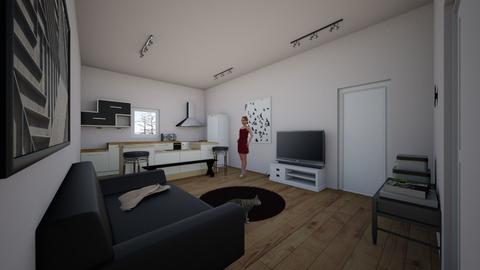 Apartment - Modern - by kittytarg