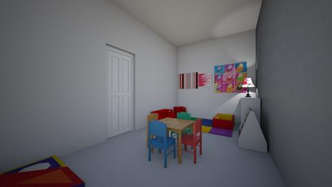 Childrens Playroom - Modern - Kids room - by CizzleG