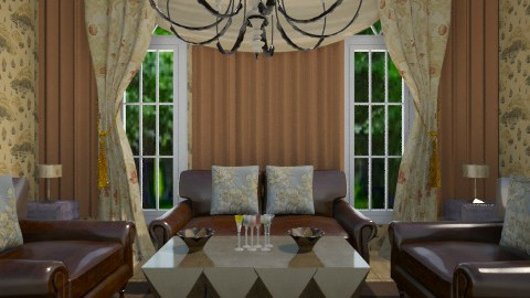 Sanderson - Glamour - Living room - by Sherrycress
