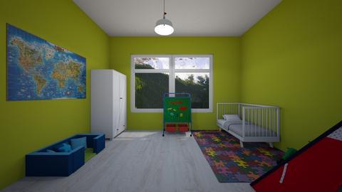 Childish - Masculine - Kids room - by Twerka