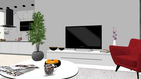 Living room S1  - by Brera