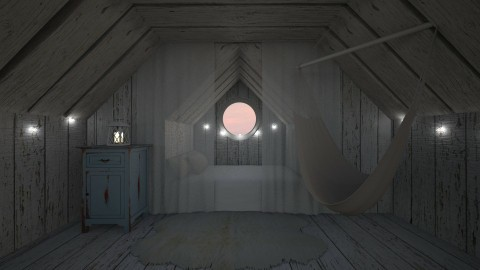 attic bedroom - by deleted_1514005826_nan92