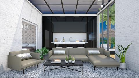 Modern weekend house - Modern - Living room - by Laurika