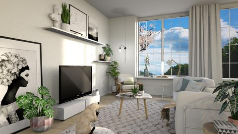 Alfecca - Living room - by AnxhelaN
