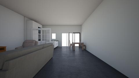 woonkamer met muur  - by Astriemstra7