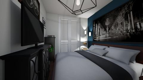 sypialnia - Bedroom - by kassandraslu