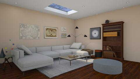 Skylight Room - Living room - by Tabitha Knight