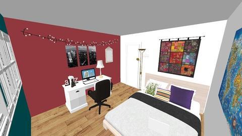 Room Redesign  - Bedroom - by aliz0b