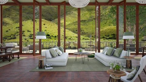 Design 417 The Sheep Ranch - Living room - by Daisy320