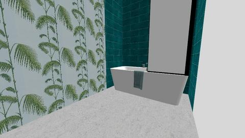 tropical - Bathroom - by Maria Kyrioti