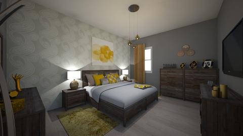 bedroom - Bedroom - by jouana
