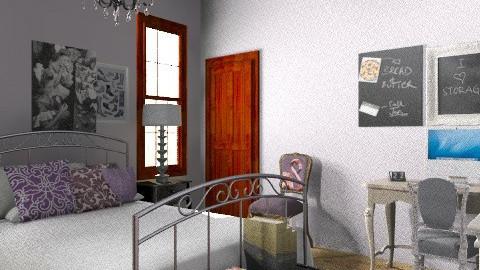 Kristyn - Vintage - Bedroom - by Katherine100