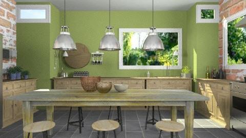 OliveKitchen - Modern - Kitchen - by StienAerts