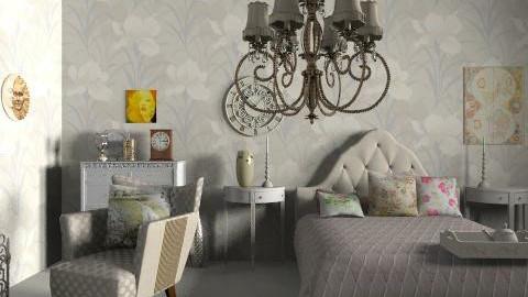 regent  - Retro - Bedroom - by livia87