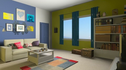XVC - Living room - by Ren707