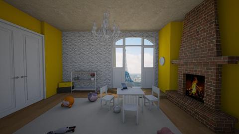Kids Quarters - Vintage - Kids room - by averysophia18