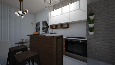 Modern Kitchen  - Modern - Kitchen - by limonka3