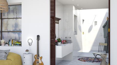 shower - by bnu