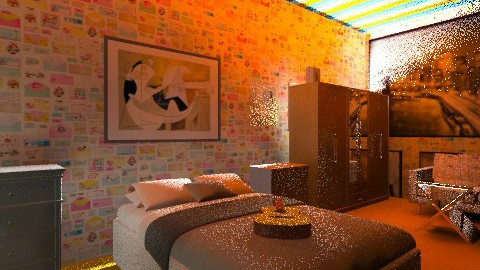 Artist - Bedroom - by 123detroit