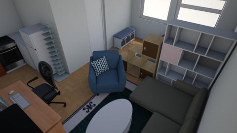 Studio5 - Bedroom - by marzimar
