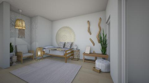 boho room - Bedroom - by sketcher2018