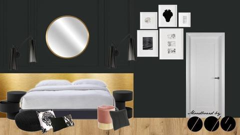 DARK CLASSIC BEDROOM IIv3 - by IDStudio