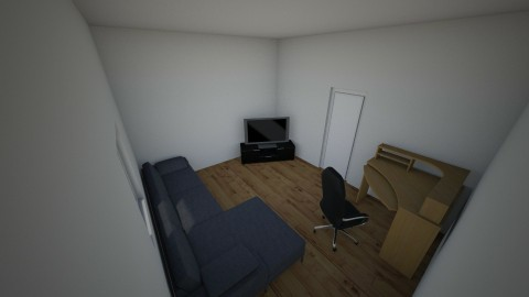 BAWS HQ - Minimal - Living room - by fbousson