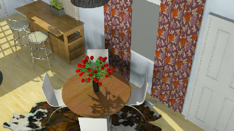 The Little Water House4 - Dining Room - by lmbenin