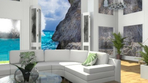 Bermuda  Square. - Minimal - Living room - by MaMariposa