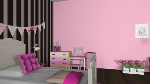 bedazzled - Glamour - Kids room - by sophierosebailey