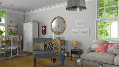 Vintage Recollection - Vintage - Living room - by Carliam