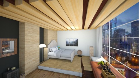 Wooden Hotel Design - Classic - Bedroom - by Taxi girl