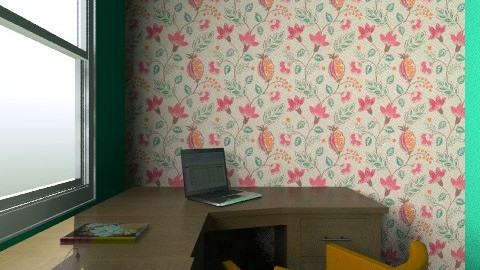flower and orange - Country - Office - by bestdesigner