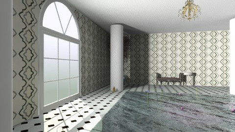 pool - Vintage - Bathroom - by JezzPearl